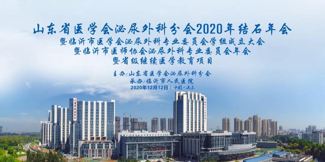 山东省医学会泌尿外科分会2020年结石年会成功召开