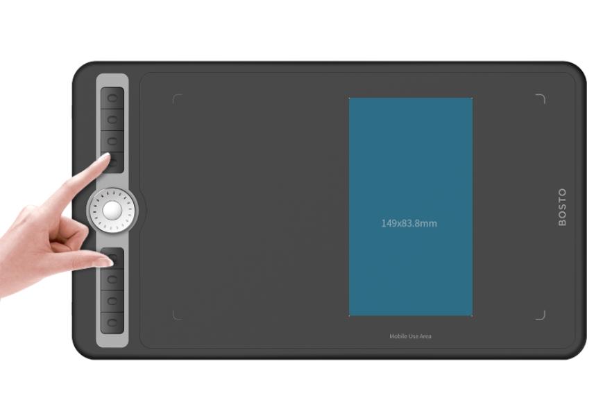 数位板链接手机,如何切换成手机绘画模式