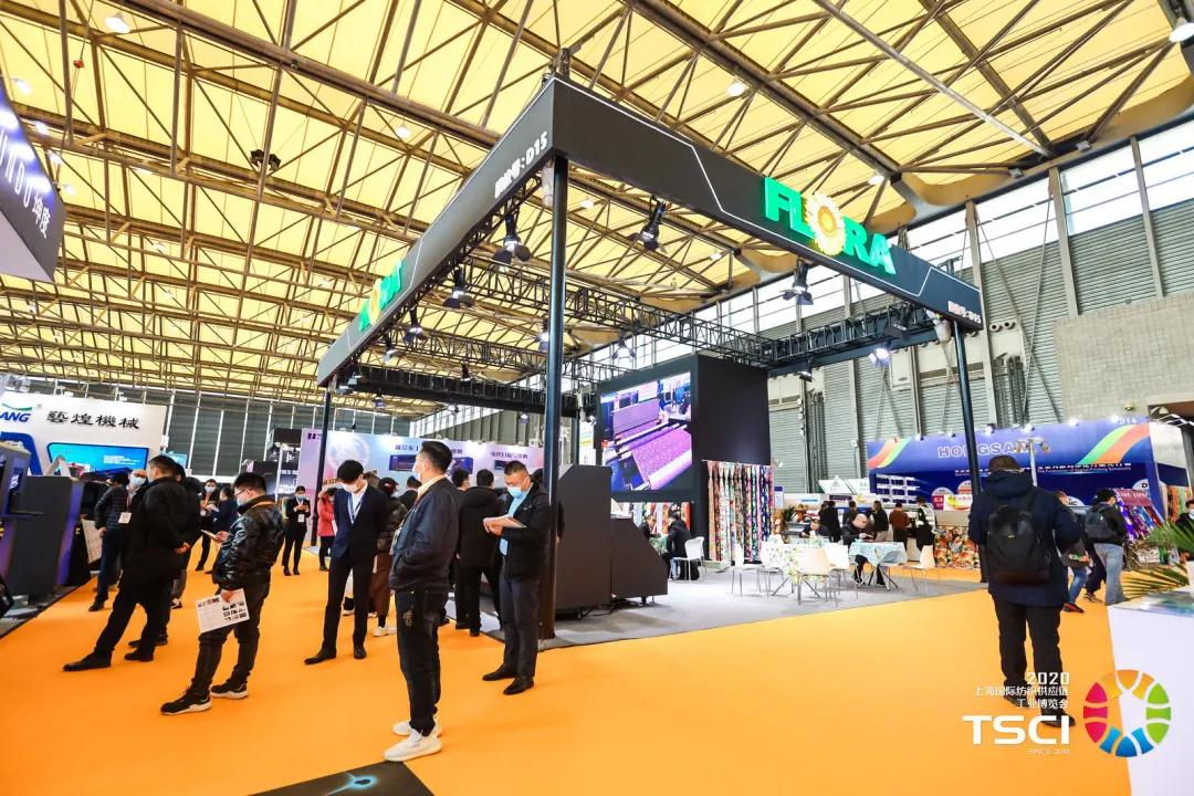 Exclusively for TSCI 2020 : FLORA exhibited the hugely popular high-speed direct-injection printer