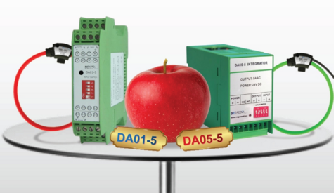 NEW PRODUCT/ 1A AC output and 5A AC output single phase integrators from MEATROL