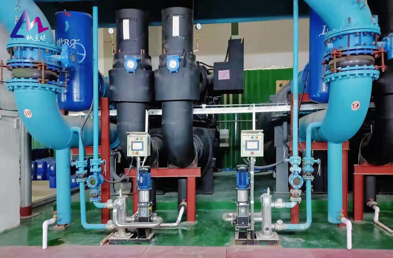 冷却器在线清洗的应用优势