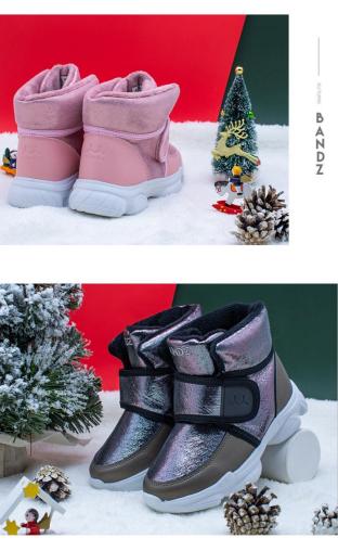 BANDZ班队长儿童雪地靴2021年全新上市