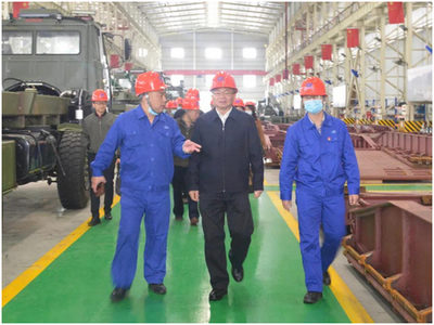 Leaders from the Standing Committee of Wuhan People's Congress Inspected China Harzone