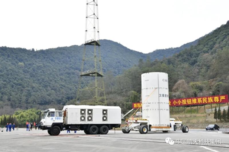 一月二十日零时二十五分长征三号乙运载火箭在西昌成功发射