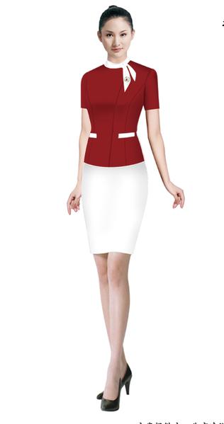 酒店服务行业职业女性服装定制