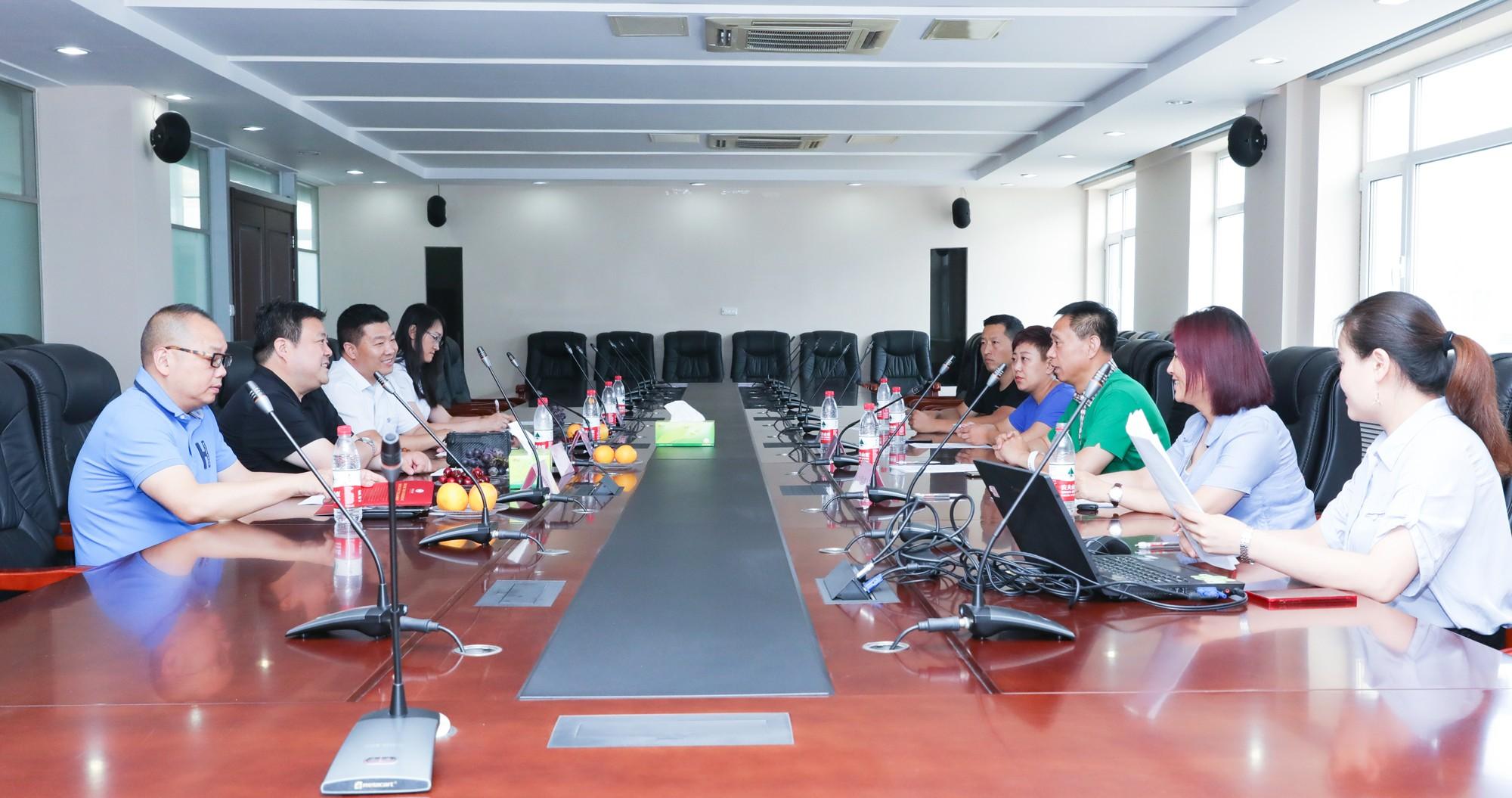 產業融合助力強農 白金酒公司參訪煙臺市嘉禾農業