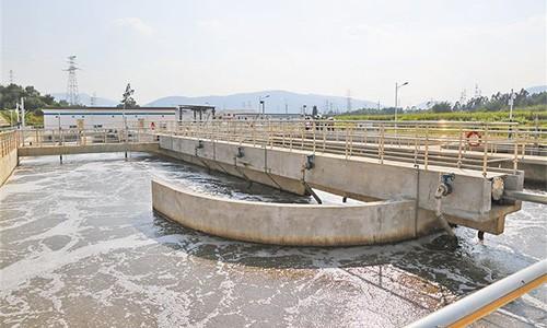 南通某公司印染工业废水降解COD