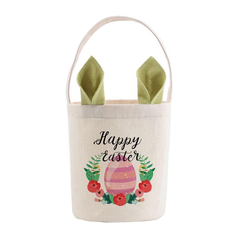 Linen Easter Basket