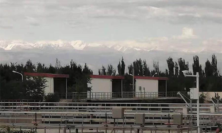 新疆某城市污水处理厂项目