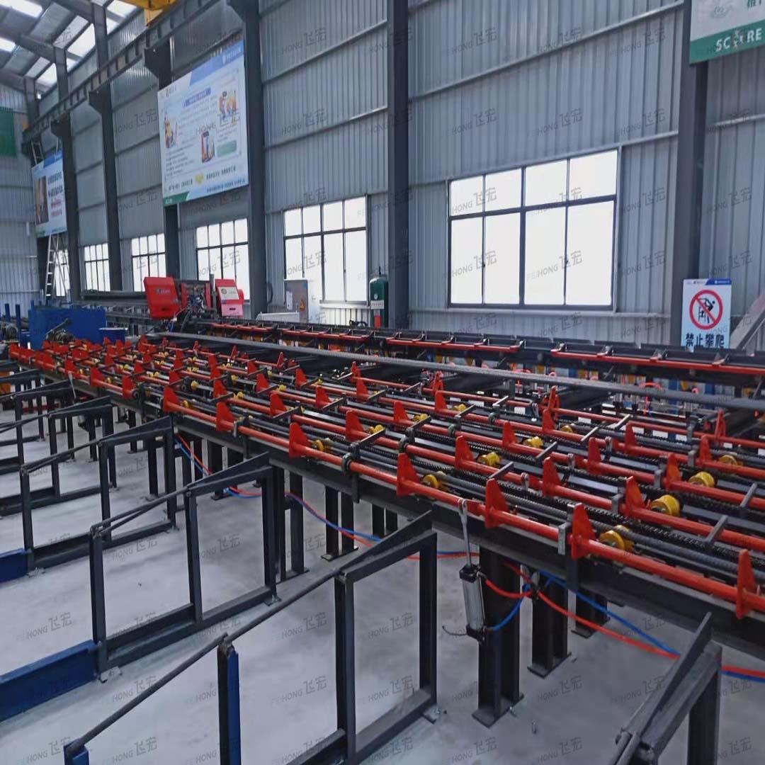飞宏8套智能钢筋加工设备助力国内高速项目建设