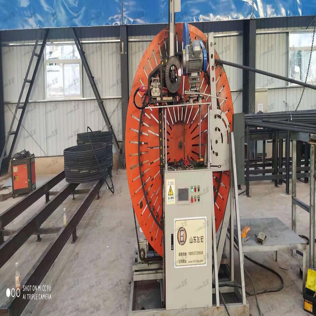 飞宏2套智能钢筋加工项目助力国内高速建设