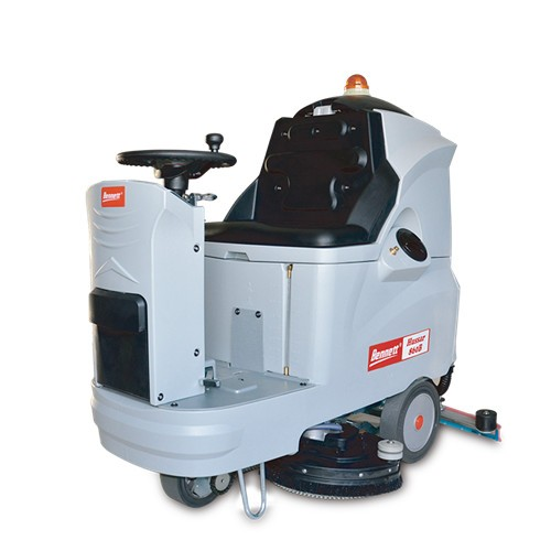 H860B驾驶式洗地机