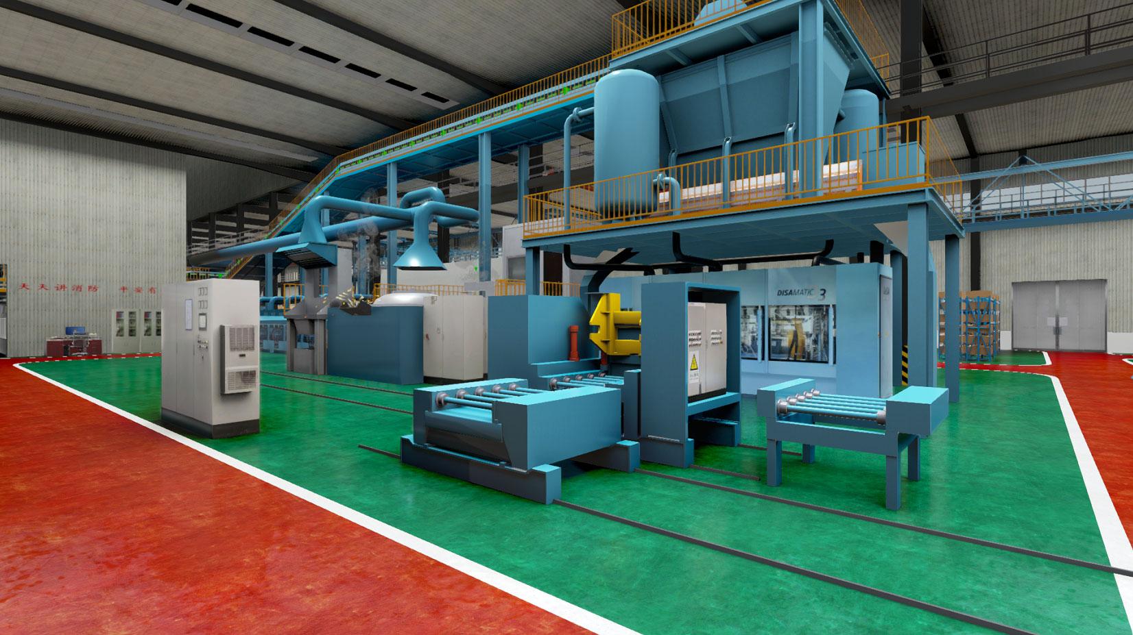 华中科技大学材料热成形虚拟仿真实训室