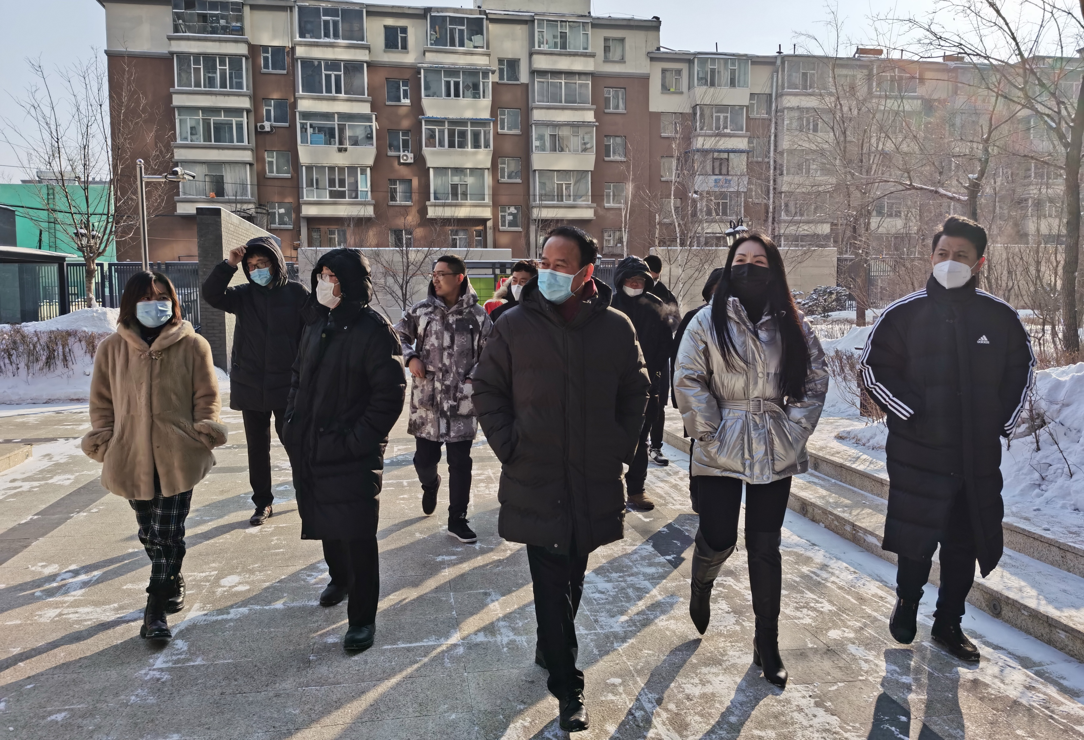长春IFC项目展开春节前安全大检查