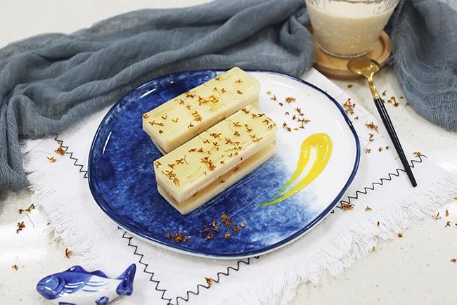 豆乳桂花糕