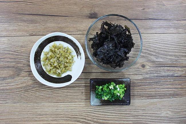 紫菜蝦米豆花