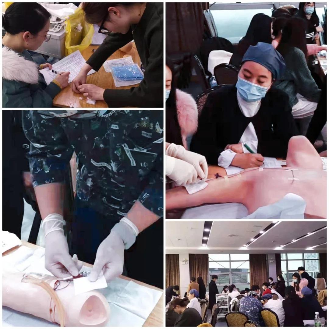 上海东方医院南院护理PICC培训考试成功举办