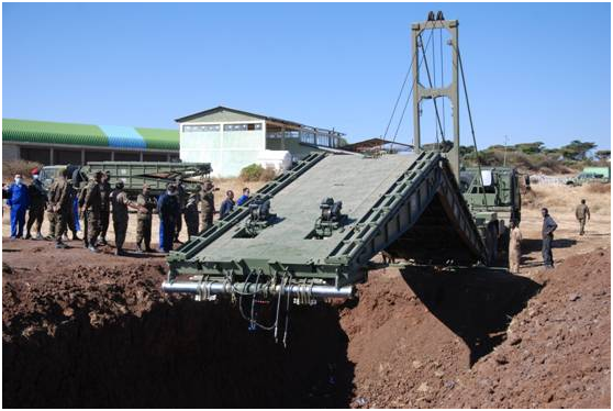 Training on Erection of Mechanical Bridge in Ethiopia Concluded Successfully
