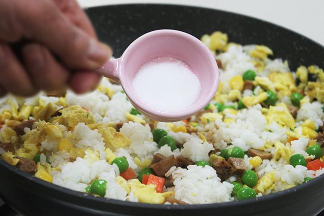 植物肉什錦炒飯