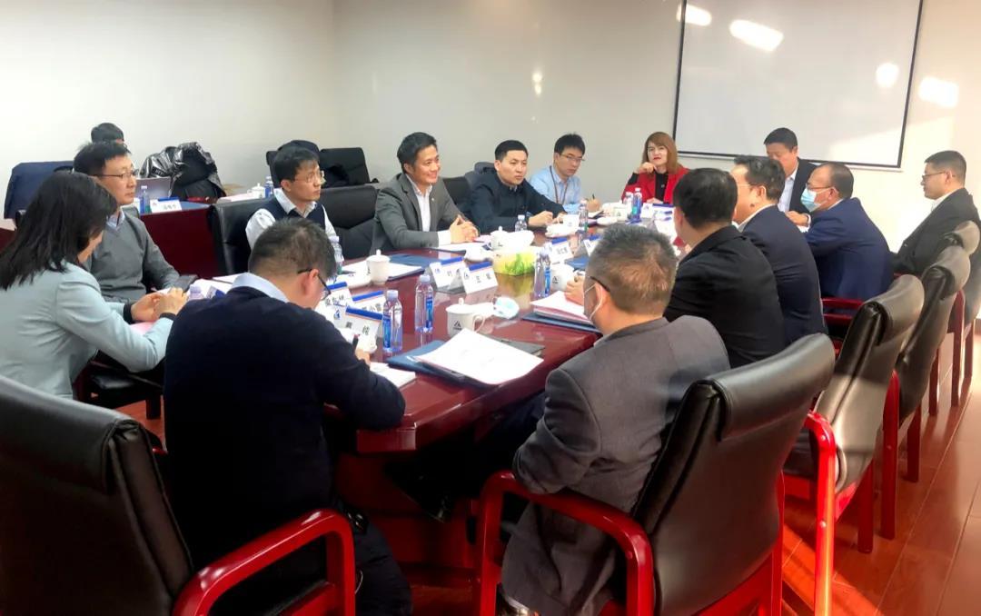 阿拉丁阳仁强拜访中国铝业集团刘祥民