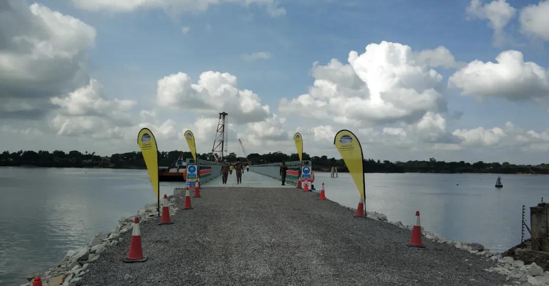 Overseas Project—The Kenya Pontoon Bridge Erected Successfully
