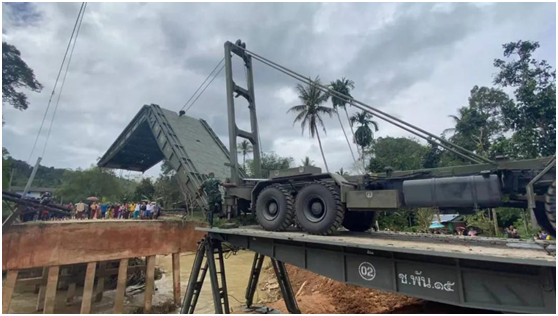 China Harzone's Emergency Rescue Equipment Did Its Stuff in Thailand