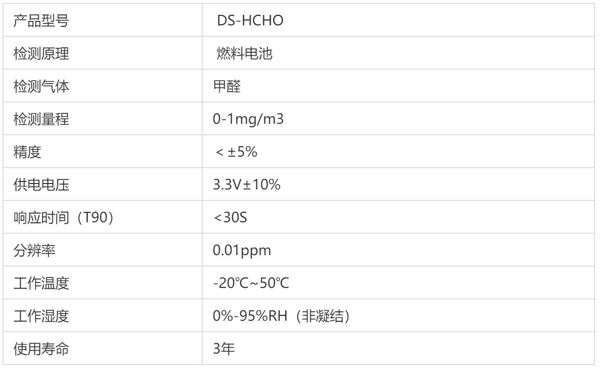 DS-HCHO甲醛传感器