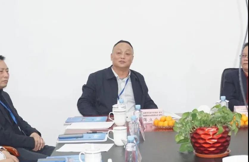 湖南省厨具设备行业协会蒋立业会长等一行莅临我会考察交流