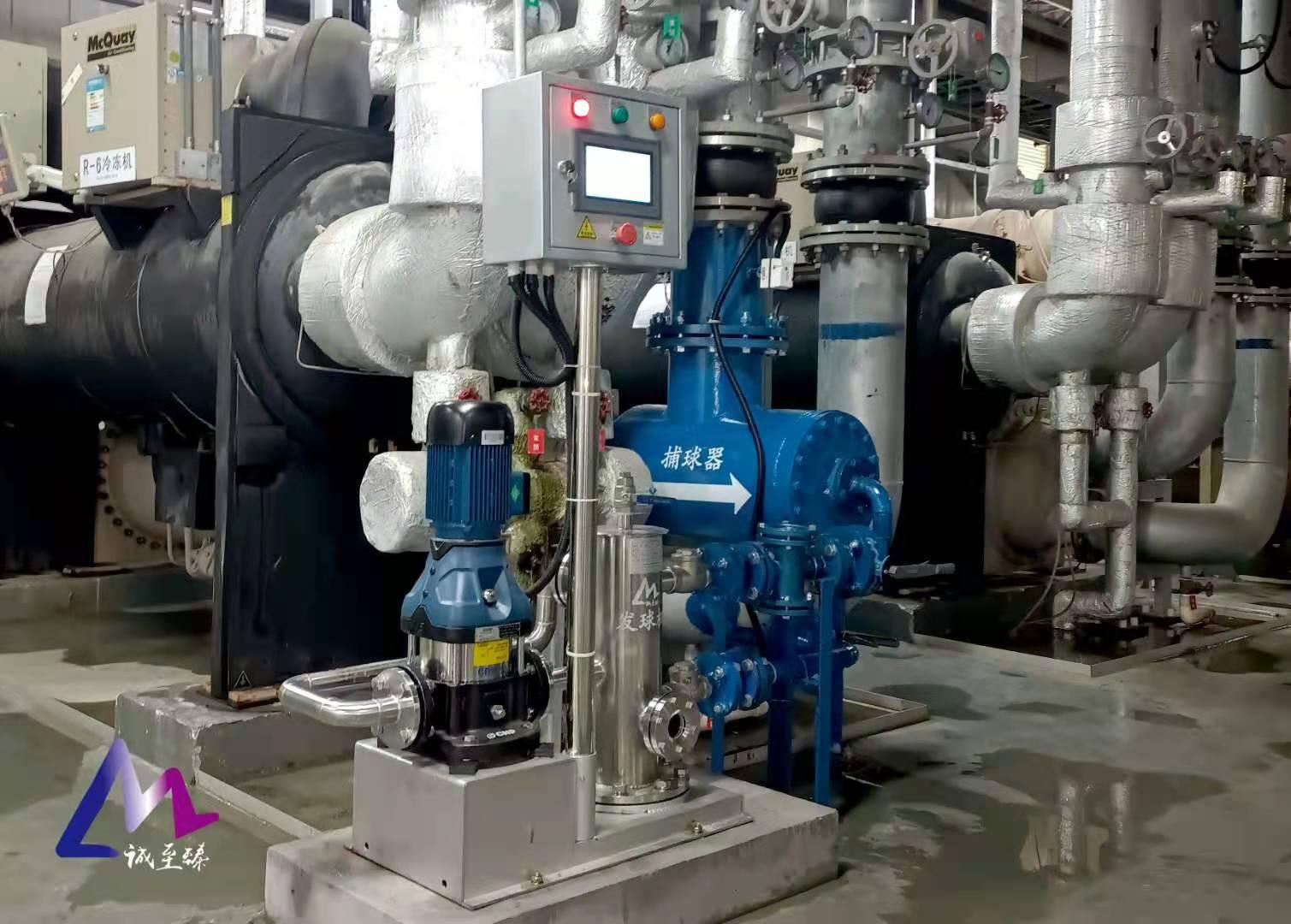 冷凝器自动在线清洗:节能效果研究