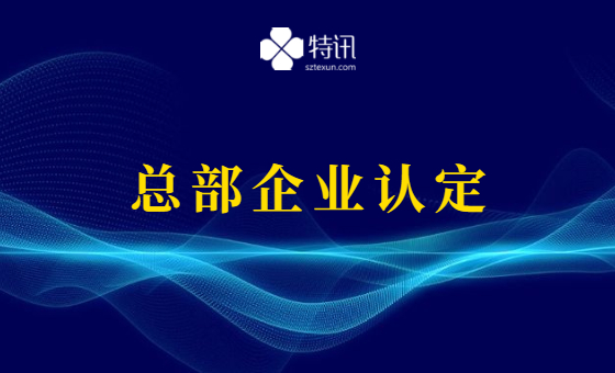 2021年龙华区总部企业认定