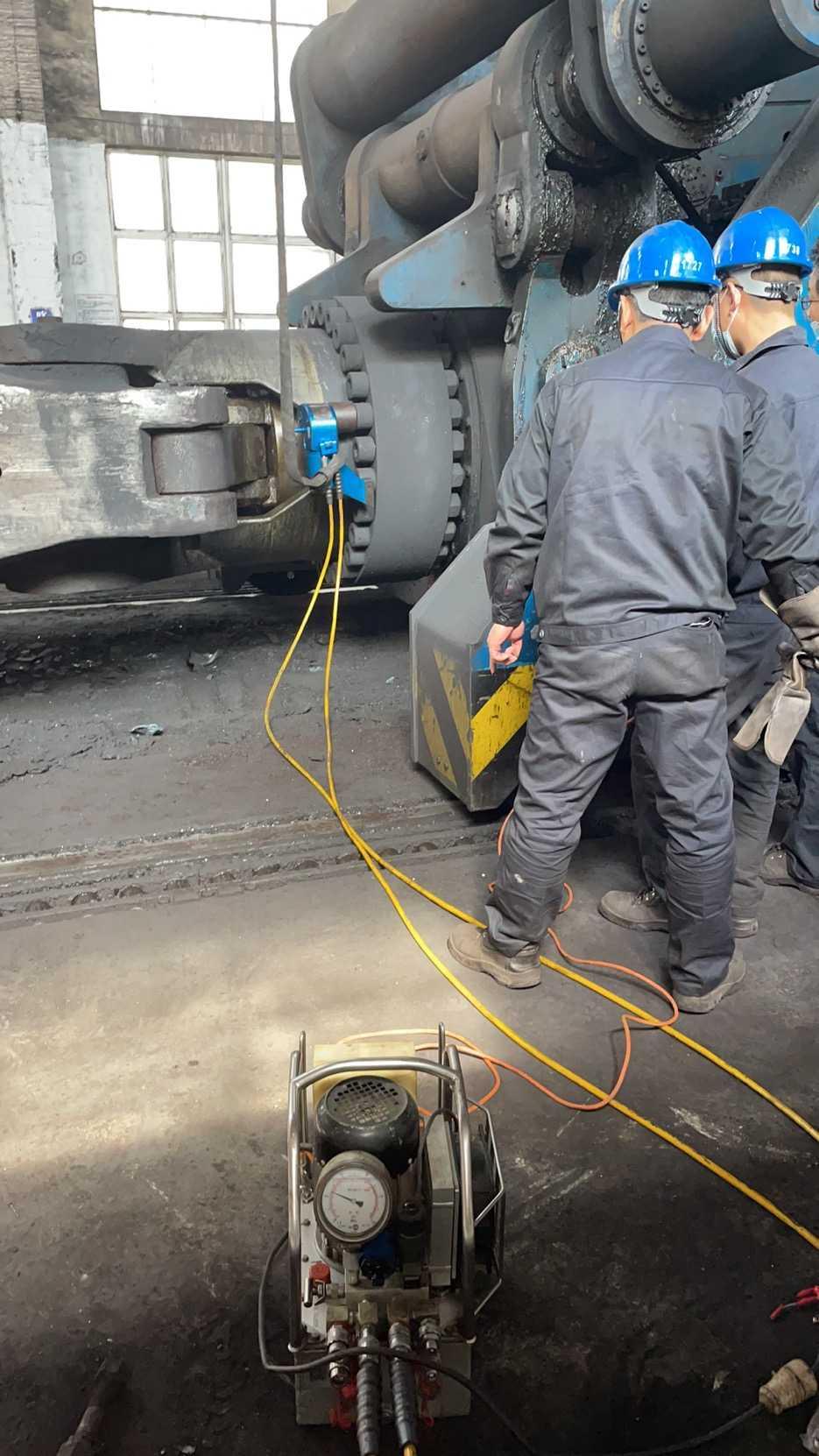 液压扳手助力某重工企业检修
