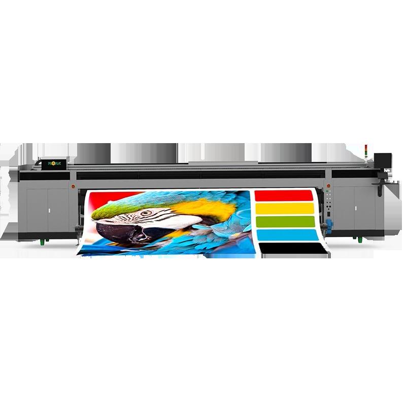 高精度、高速UV 卷对卷喷绘机