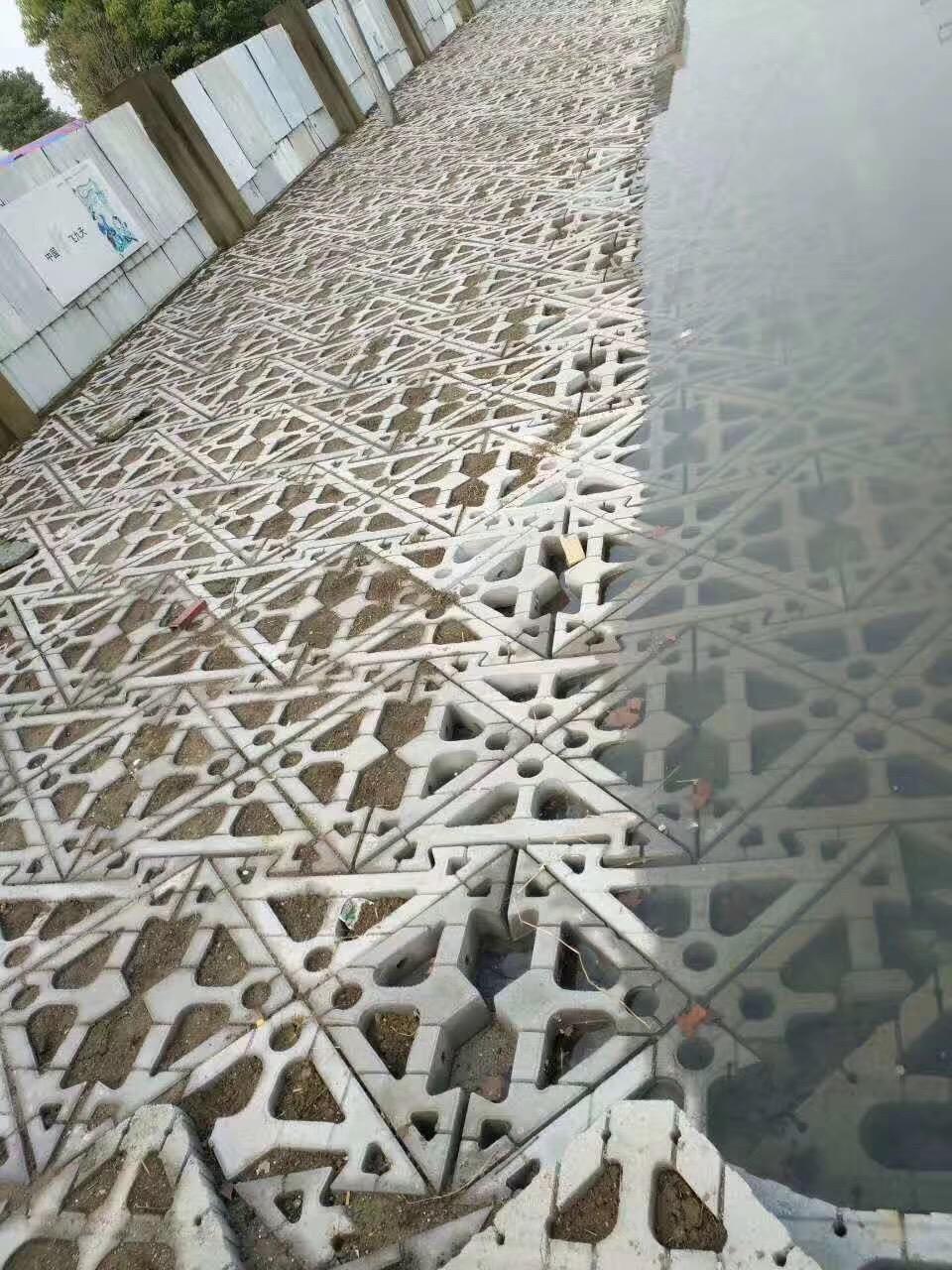 护坡砖在施工方面的优势体现