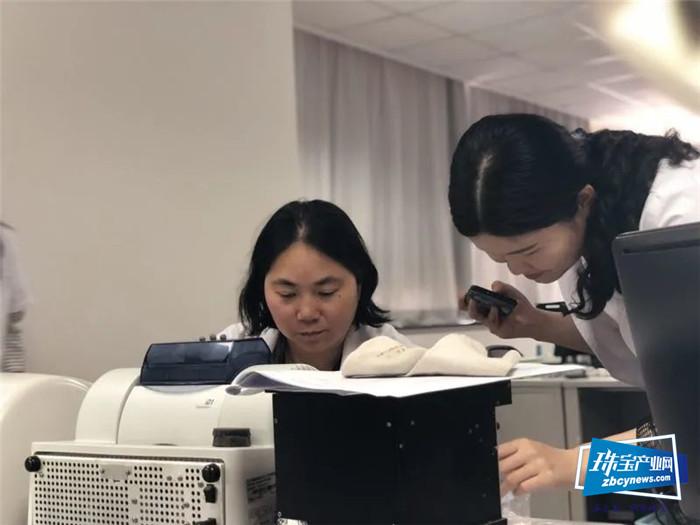 珠宝国检(NGTC)高级质检师祝晓霞