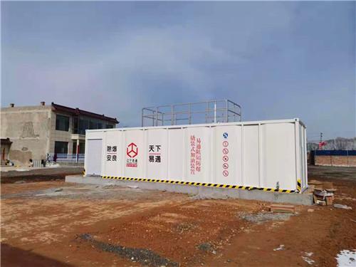 2021年3月5日,辽宁雷竞技app官网撬装式加油装置在陕西落地安装完成。