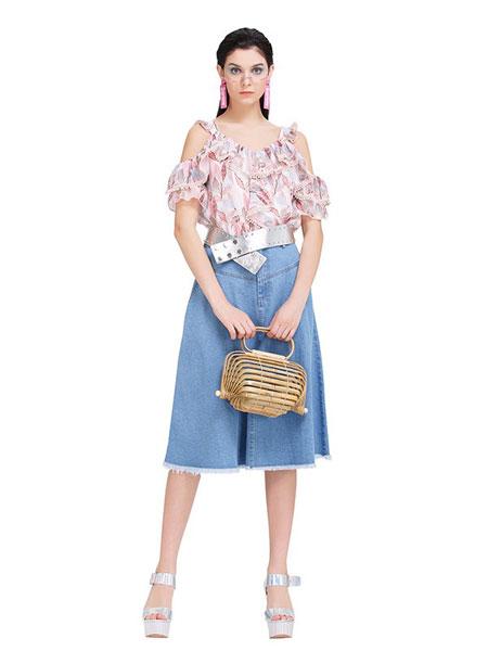 阿莱贝琳时尚品牌女装店2021春上新【魔美名作】品牌女装系列