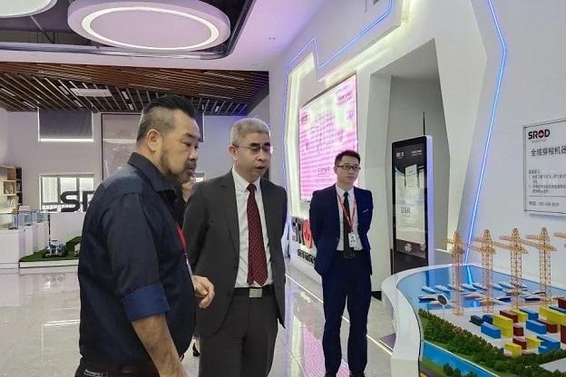 新加坡全球股权交易所董事会主席走访深圳施罗德工业集团