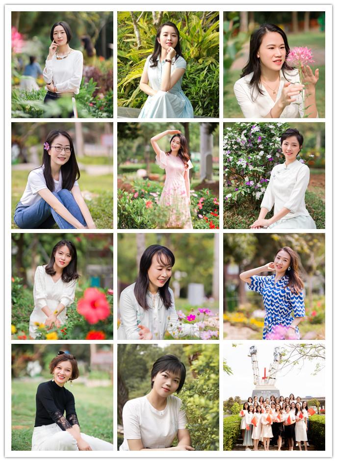 """用镜头定格美丽  以照片留住时光--龙华建设公司举行魅力女性之""""摄影采风""""活动"""
