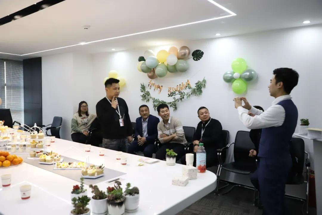 缤纷生日会,快乐齐分享 昆仑文化2021年第一季度员工生日会温馨落幕!
