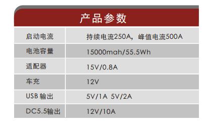 ESP-150汽车启动电源