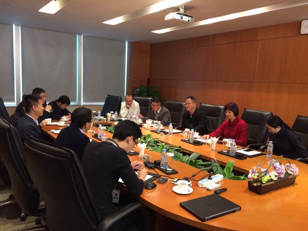 深圳市第二职业技术学校许卫东副校长一行莅临鸿普森参观指导