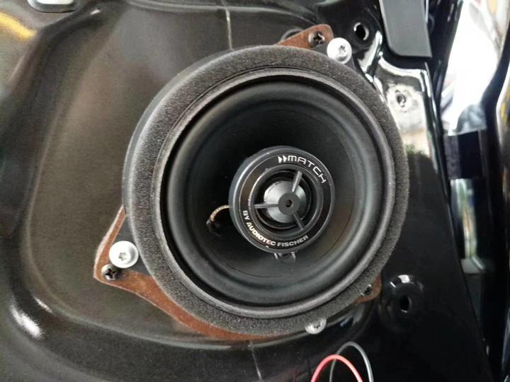 宝马X5无损升级德国MATCH专车专用音响,将生活变成一首歌
