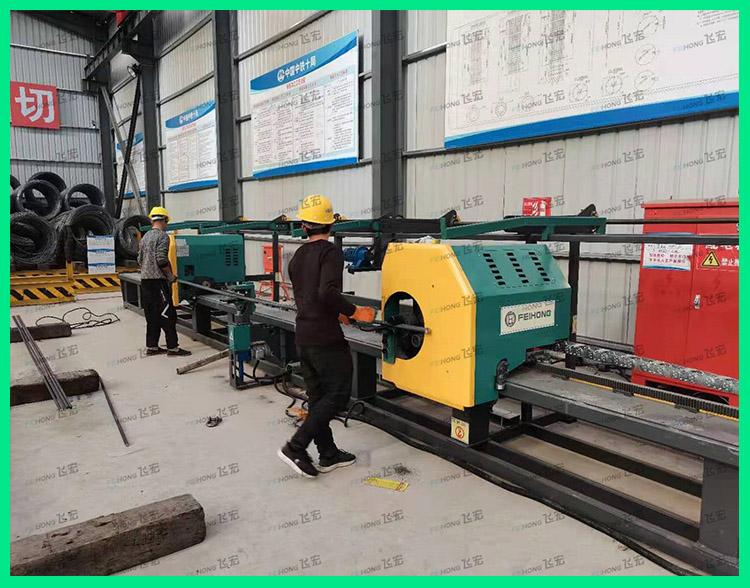 飞宏1套智能钢筋加工设备助力国家省级高铁建设
