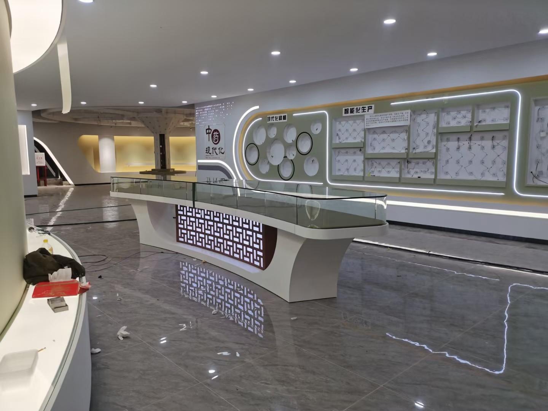 智能电子设备展厅装修