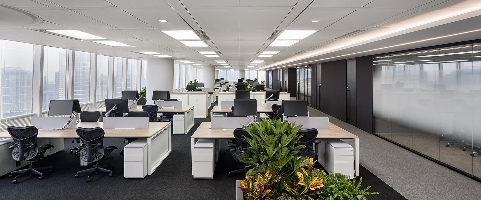 梅赛德斯-奔驰办公室装修