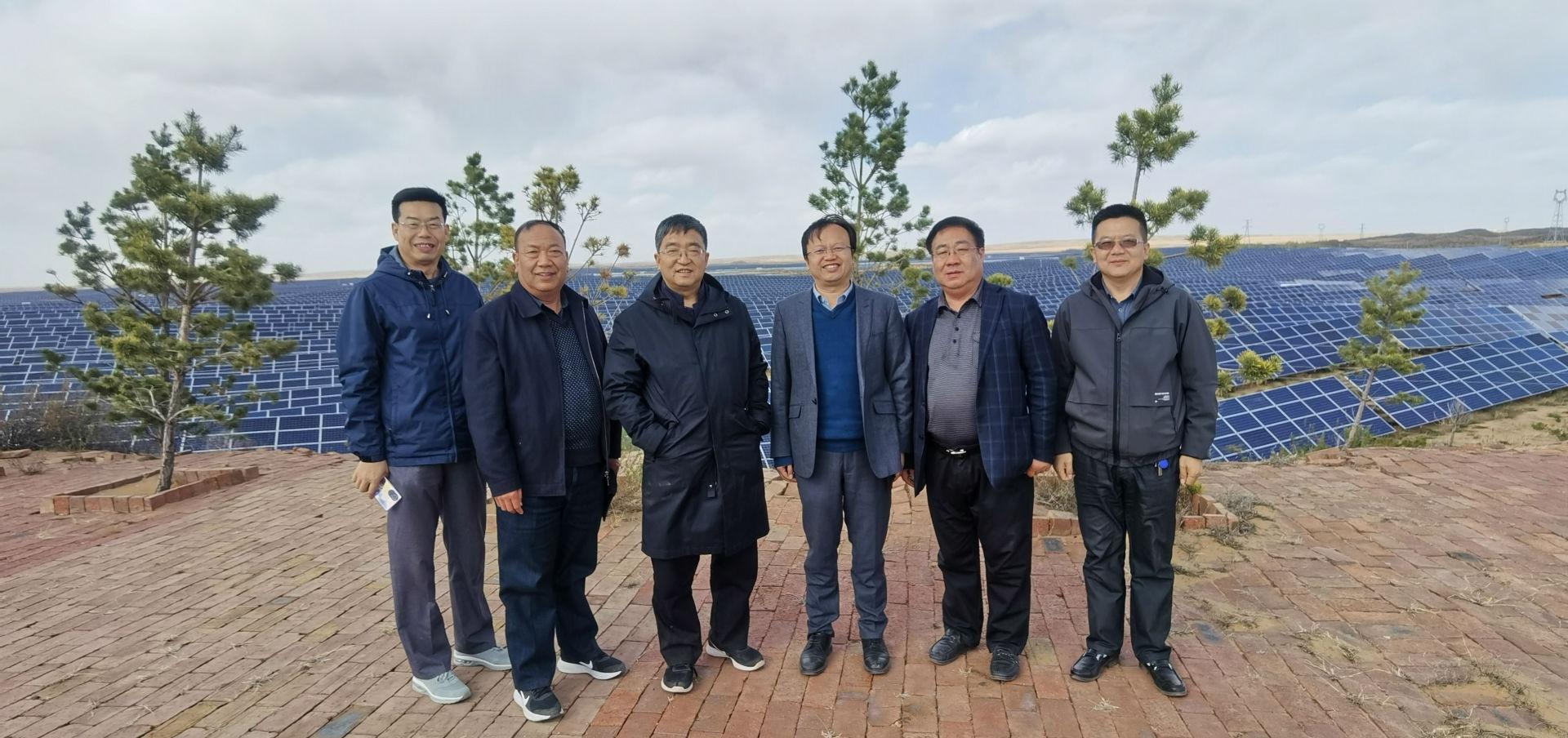 省林業廳領導到神木錦西礦區實地調研