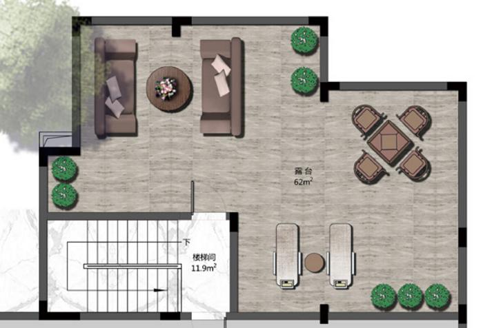 筑屋匠乡村别墅设计建造——露台篇