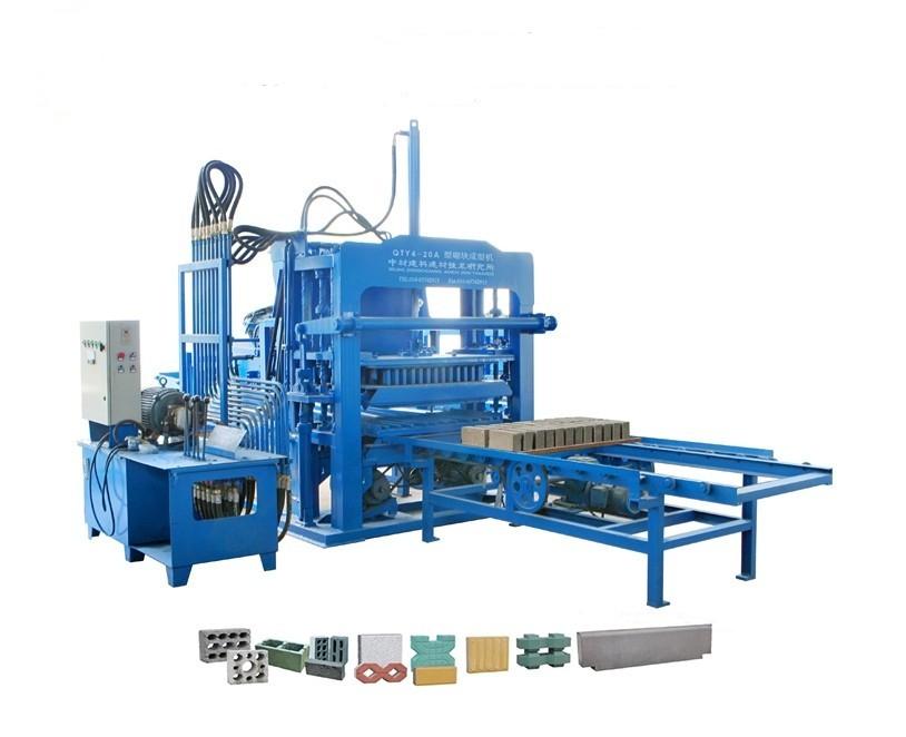 QTY4-20A多功能液压制砖机