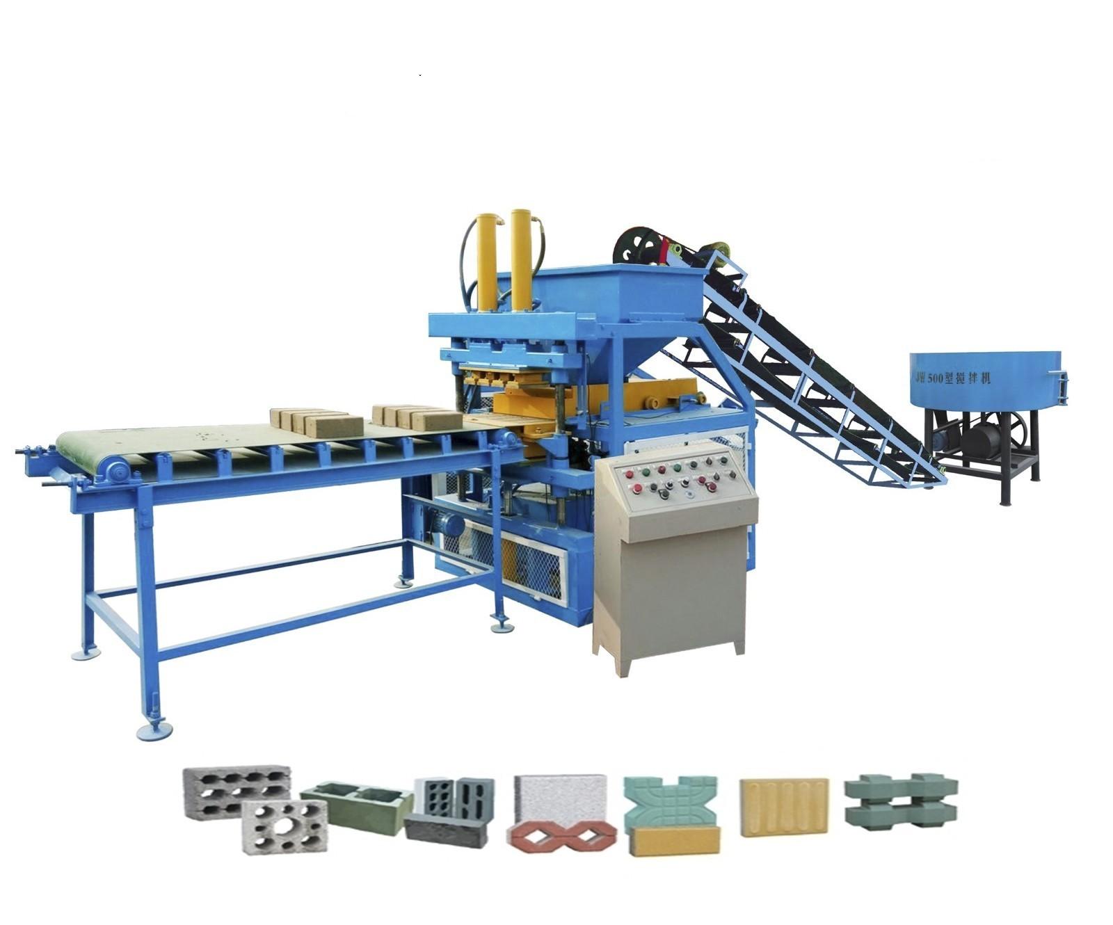 ZCY4-10型地砖生产线