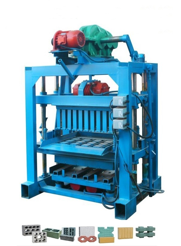 QTJ4-40II型免烧水泥砖机设备